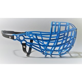 Greyhound Maulkorb DMAC 200 -blau-
